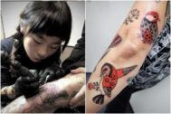 Noko Nishigaki: así son las creaciones de la tatuadora japonesa de 10 años que arrasa en las redes