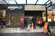 La tienda de Amazon Go, en Seattle