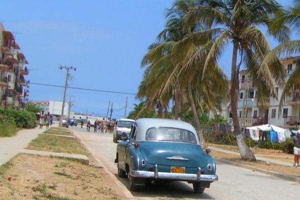 Localidad de Santa criz del Norte, en Cuba.