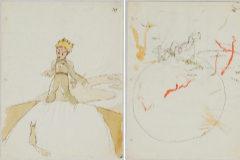 Hallados unos bocetos de 'El Principito' en una casa