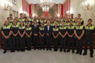 Toma de posesión de los 36 nuevos policías locales.