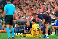 Preocupación en el Barça: Suárez tiene una lesión en el sóleo de la pierna derecha