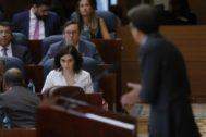 Díaz Ayuso hizo el miércoles un certero retrato de Errejón.