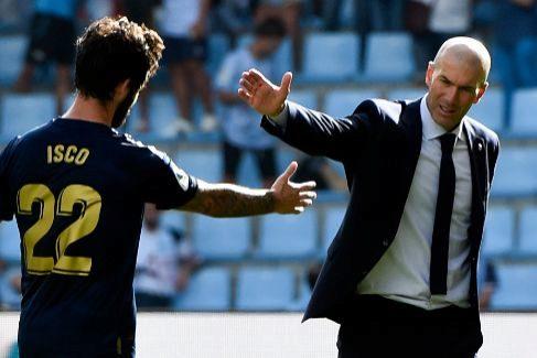 La sonrisa y la resignación de Zidane