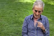 Leopoldo Panero, fotografiado poco antes de su fallecimiento.