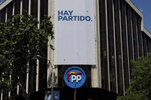 Sede del Partido Popular en la calle Génova