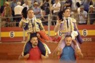 Festival de trofeos para Ferrera y Ureña en Almería