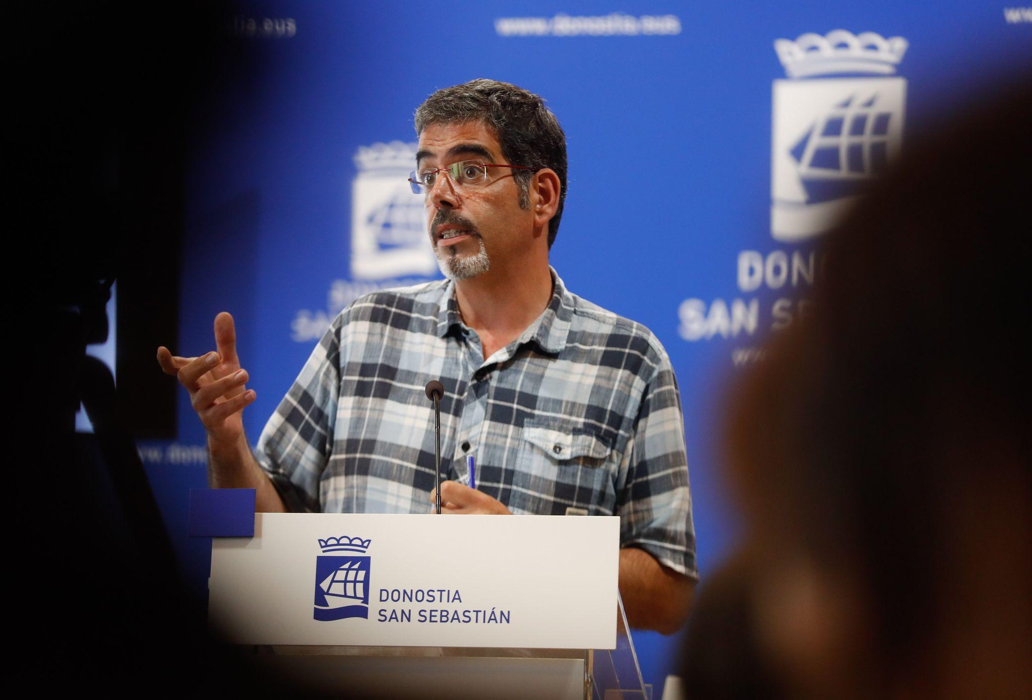 El alcalde de San Sebastián, Eneko Goia.