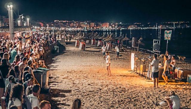 La organización pluriconfesional alemana Reach Mallorca en un acto que celebró en la Playa de Palma.
