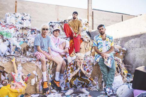 Imagen promocional del grupo Cupido.