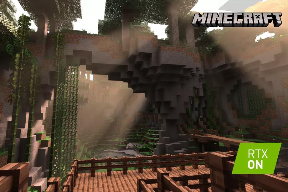 Minecraft mejorará sus gráficos con la tecnología RTX de Nvidia