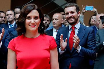 Pablo Casado se reivindica en el proyecto de Isabel Díaz Ayuso para la Comunidad de Madrid