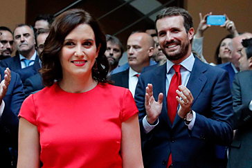 "Isabel Díaz Ayuso ya es presidenta: ""No se puede gobernar Madrid sin querer a España"""