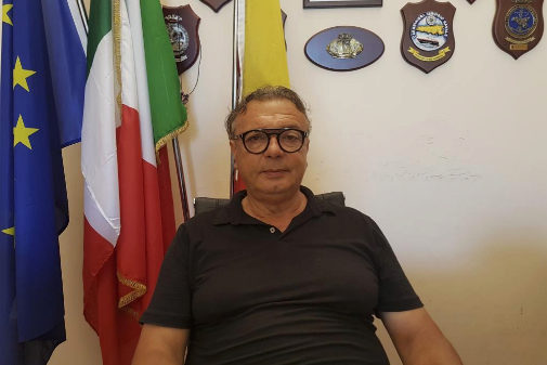 Salvatore Martello, alcalde de Lampedusa
