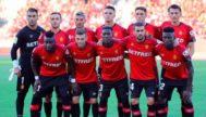Equipo que jugó ante el Eibar en la primera jornada de Liga el pasado sábado.