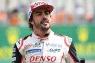 Fernando Alonso, en las pasadas 24 Horas de Le Mans.