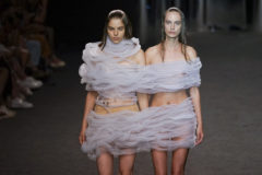 Una de las creaciones de la firma de moda ZAP&BUJ, de la que Elena Zapico era co creadora.
