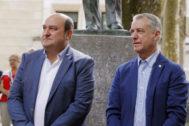 Andoni Ortuzar e Iñigo Urkullu