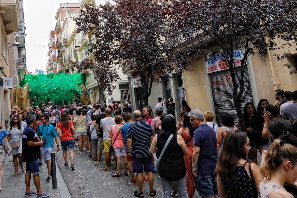 SANTI COGOLLUDO Barcelona, Catalunya 15.08.2019 Ambiente...