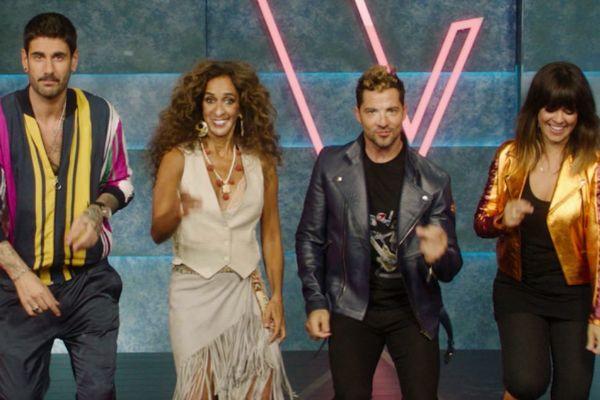 Melendi, Rosario, David Bisbal y Vanesa Martín en la primera promo de...