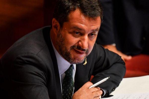 El vicepresidente italiano, Matteo Salvini.