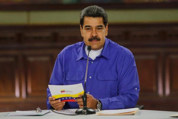 CARACAS (VENEZUELA), 14/08/2019.- Fotografia cedida por Prensa de...