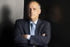 Javier Tebas. presidente de LaLiga.