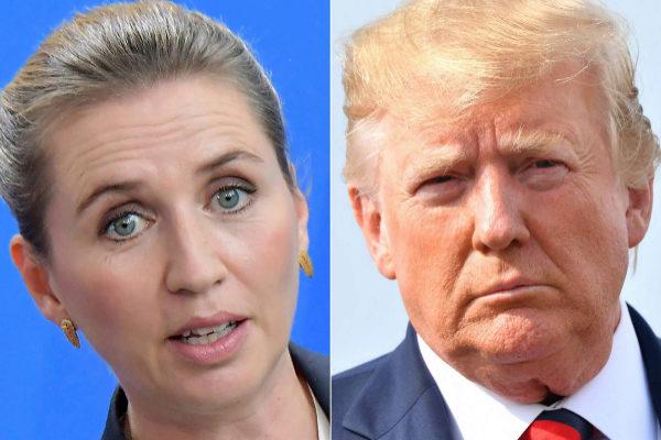 Resultado de imagen para Trump suspende reunión con premier danesa por negarse a vender Groenlandia
