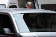 Pell, a su llegada a la Corte Suprema del estado australiano de Victoria.