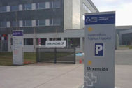 Hospital de Lugo donde fue ingresado el pequeño.