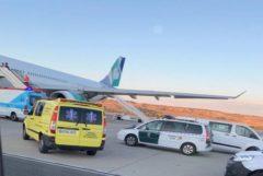 """35 atendidos por turbulencias: """"El techo del avión se abolló con los cabezazos"""""""