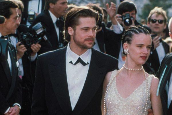 El actor Brad Pitt junto a Juliette Lewis