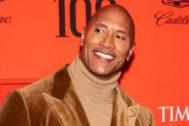 Dwayne Johnson durante la gala anual Time 100 en abril.