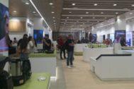 La inaguración de la tienda de Aliexpress en España.