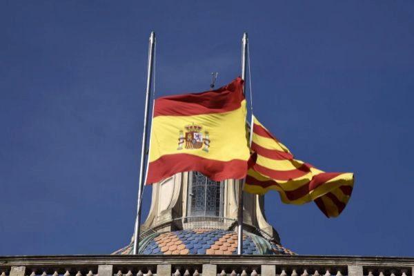 Imagen de archivo de la fachada del Palau de la Generalitat.