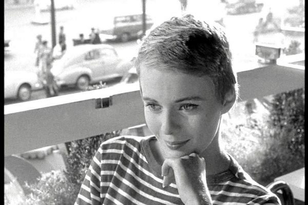 jean seberg long hair
