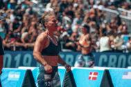 Sara Fernández durante su participación en los Games