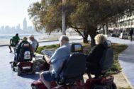 En Benidorm circulan todo tipo de vehículos de movilidad personal.