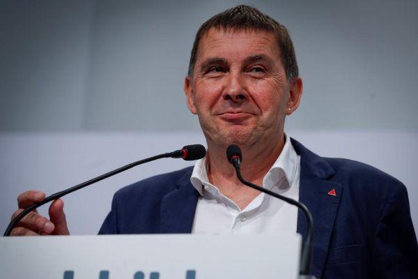 El ex etarra y líder de EH Bildu, Arnaldo Otegi.