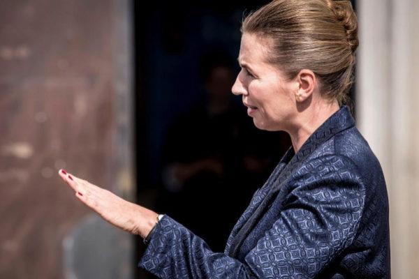 La primera ministra danesa, Mette Frederiksen.