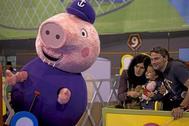 Representación de Peppa Pig.