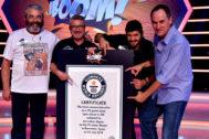 El equipo de Los Lobos se llevó el mayor premio de la televisión en Boom