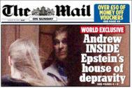Un testigo  vio al príncipe Andrés recibiendo un masaje de pies por parte de dos rusas en la mansión de Epstein