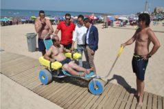 El 'milagro' presenciado por el presidente de la Diputación en la villa para  discapacitados