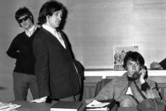 The Kinks en 1965. Ray Davies, Dave Davies y el bajista Pete Quaife.