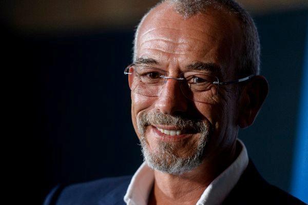 El empresario Livio Lo Monaco durante la presentación del documental...