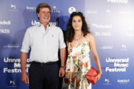 Cayetano Martínez de Irujo y Bárbara Mirjan