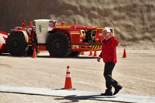 AME7118. CALAMA (CHILE).- El presidente de Chile,...