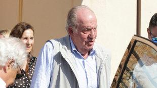 El rey emérito Juan Carlos en Mallorca