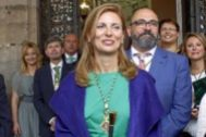 La alcaldesa de Castellón. Amparo Marco.